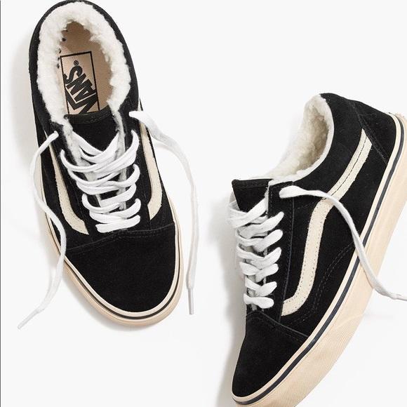 ... old skool sneakers suede   sherpa. M 5ac9c67bf9e501697f360c08 98b253753